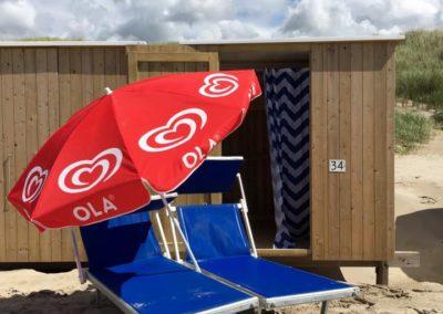 Strandcabine strandpaviljoen sint maartenszee
